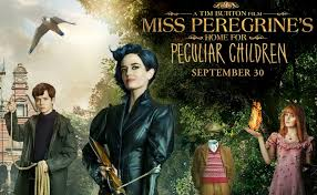 Miss Peregrine's Home for Peculiar Children Movie and Book Review
