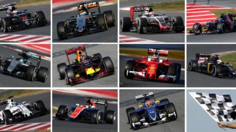 This Year's F1 (at the time of writing)
