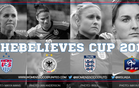 SheBelieves Cup 2017- Women's Soccer