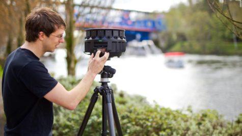 Googles new 17 Lens Virtual Reality Camera
