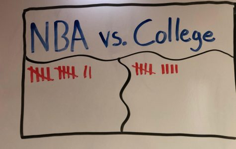 NBA vs. College Basketball
